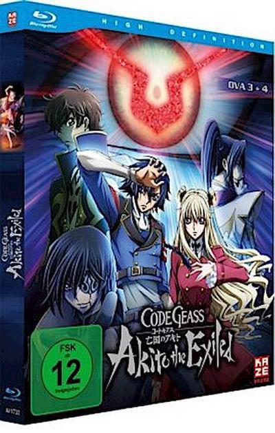 Code Geass - OVA 3+4 Akito the Exiled. Tl.3+4, 1 Blu-ray