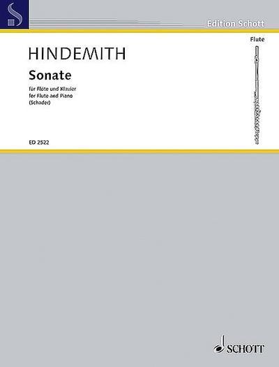 HINDEMITH - Sonata (1936) para Flauta y Piano