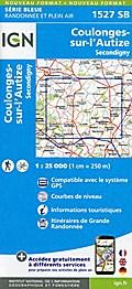 Coulonges-sur-l'Autize 1:25 000