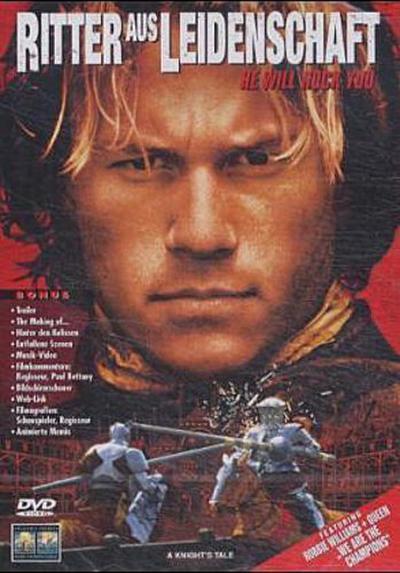 Ritter aus Leidenschaft, 1 DVD, deutsche u. englische Version