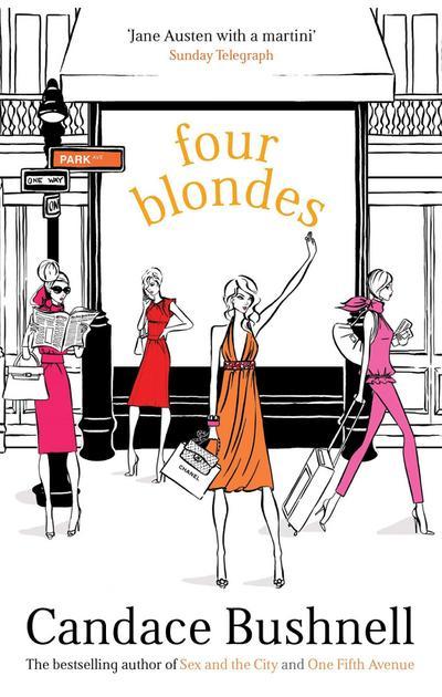 Four Blondes. Vier Blondinen, englische Ausgabe