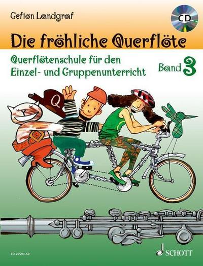 Die fröhliche Querflöte Band 3 mit CD