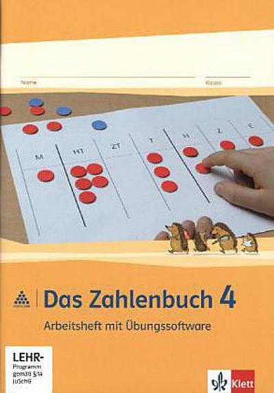 Das Zahlenbuch. 4.Schuljahr. Arbeitsheft mit CD-ROM. Neubearbeitung