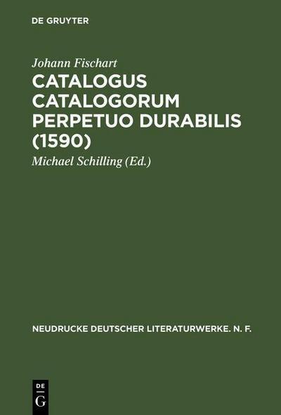 Catalogus Catalogorum  perpetuo durabilis (1590)