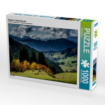 Herbst in Haute-Savoie (Puzzle)