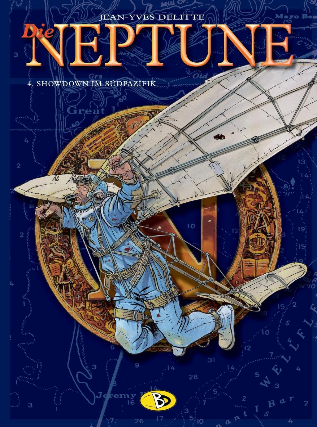 Die Neptune 04. Showdown im Südpazifik Jean Yves Delitte