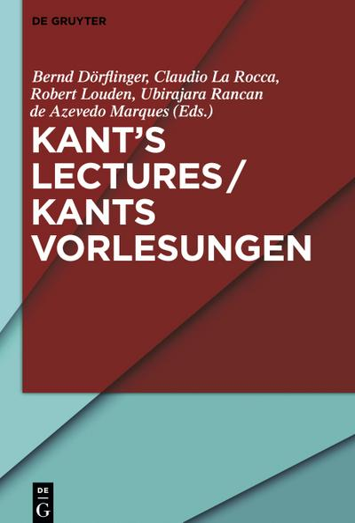 Kant's Lectures / Kants Vorlesungen
