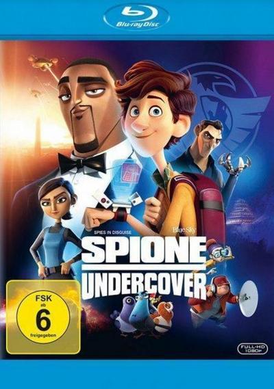 Spione undercover - Eine wilde Verwandlung, 1 Blu-ray