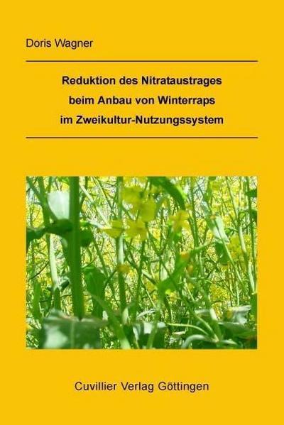 Reduktion des Nitrataustrages beim Anbau von Winterraps im Zweikultur-Nutzungssystem