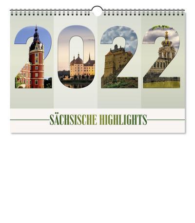 "Kalender ""Sächsische Highlights"" 2022"