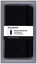 Moleskine Klassische Tasche für Iphone 6Plus/6Splus, Schwarz