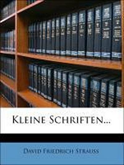 Kleine Schriften, 1862