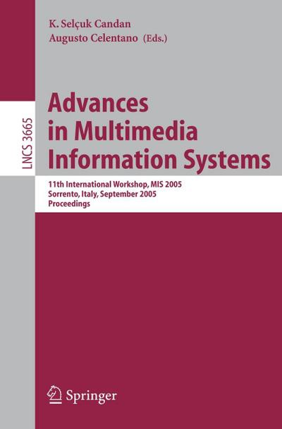 Advances in Multimedia Information Systems 2005