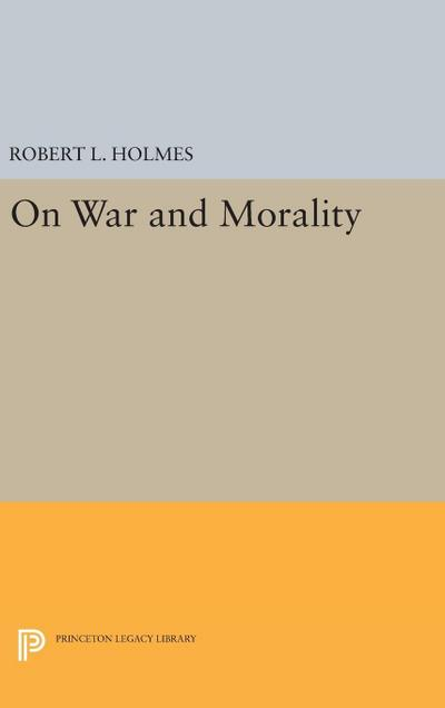 On War and Morality