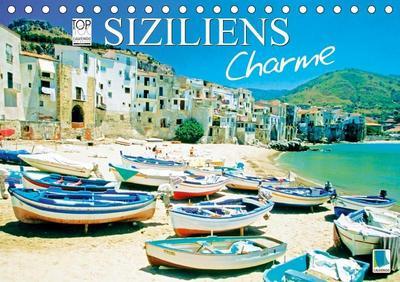 Siziliens Charme (Tischkalender 2019 DIN A5 quer): Sizilien: Die schönste Insel im Mittelmeer (Monatskalender, 14 Seiten ) (CALVENDO Orte)