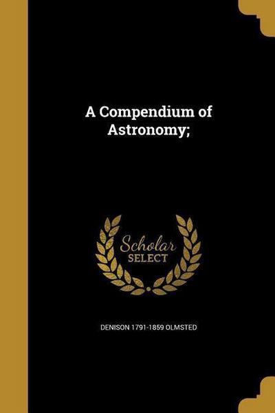 COMPENDIUM OF ASTRONOMY