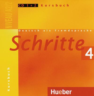 Schritte 4. 2 Audio-CDs zum Kursbuch
