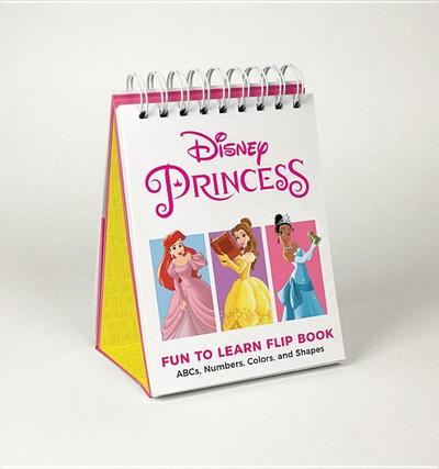 Disney Princess Fun to Learn Flip Book: Abcs, Numbers, Colors, and Shapes