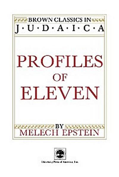 Profiles of Eleven