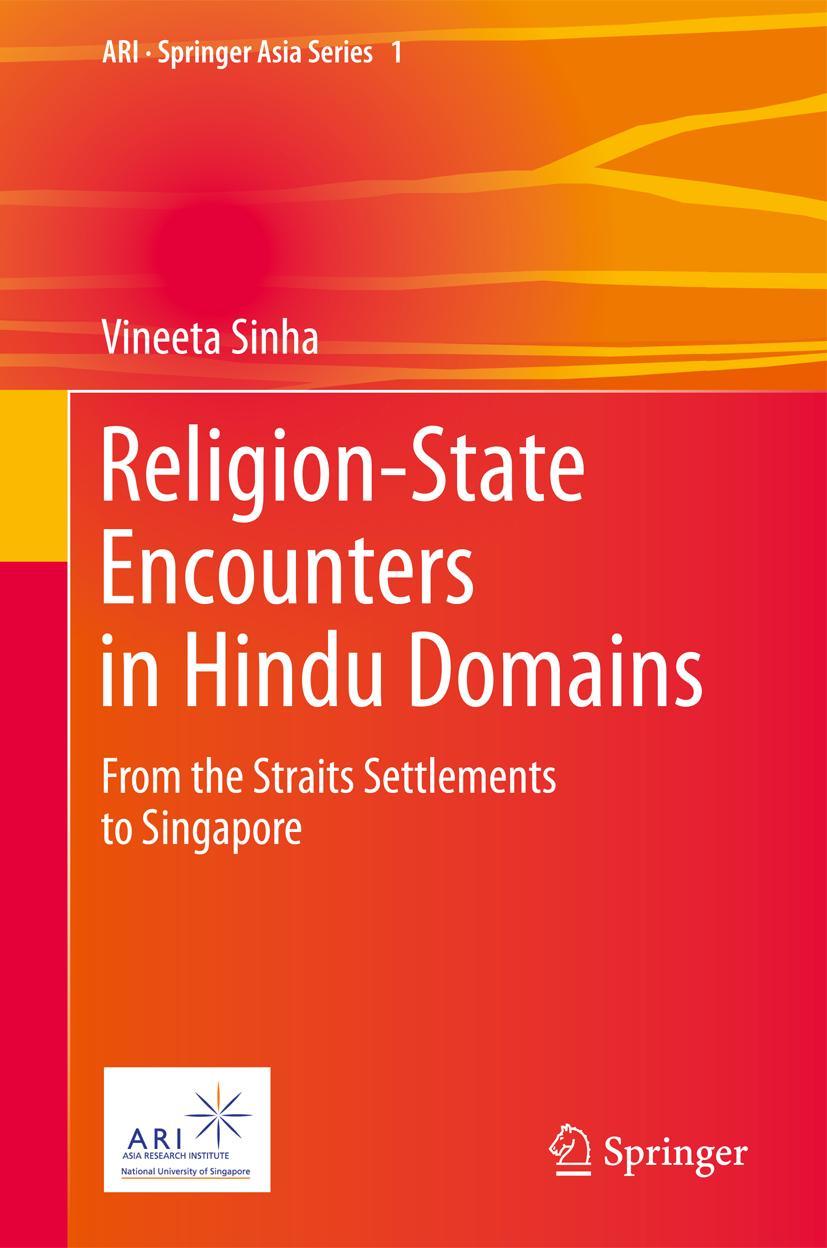 Religion-State Encounters in Hindu Domains Vineeta Sinha