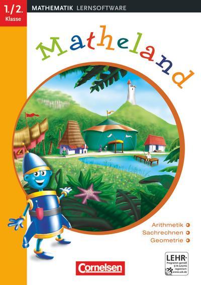 Matheland - Mathematik-Lernprogramm - In DVD-Box - Teil 1: 1./2. Schuljahr