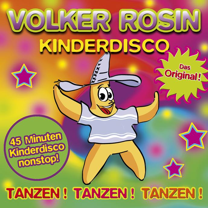 Kinderdisco - Das Original, Audio-CD Volker Rosin
