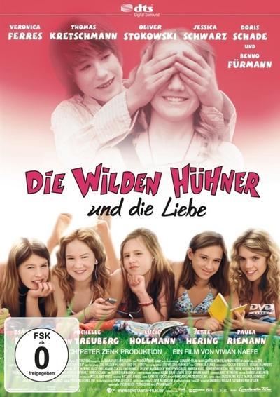 Die wilden Hühner und die Liebe - Constantin Film - DVD, Deutsch, Cornelia Funke, Keine, Keine