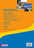 Puente al Español 2. Cuaderno de actividades mit CD-ROM und CD für Schüler