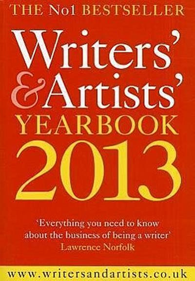 Writers' & Artists' Yearbook 2013