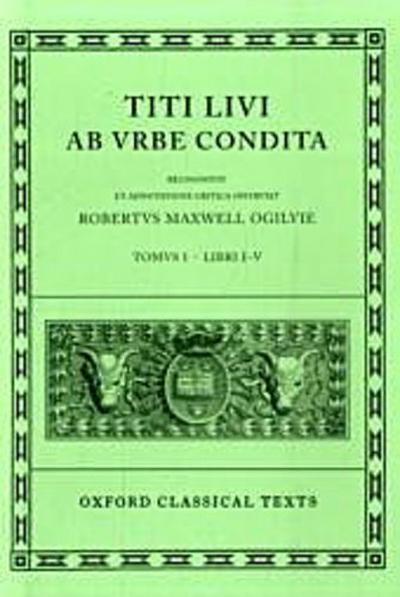 Ab urbe condita Books I-V