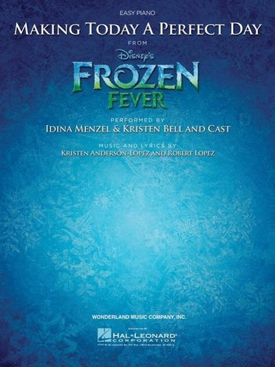 Making Today A Perfect Day (from Frozen Fever) - Easy Piano
