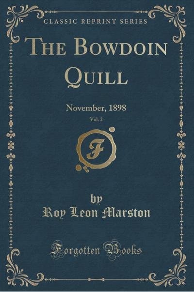 The Bowdoin Quill, Vol. 2