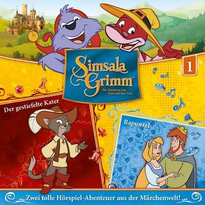 SimsalaGrimm 01: Der gestiefelte Kater / Rapunzel