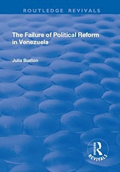 Failure of Political Reform in Venezuela