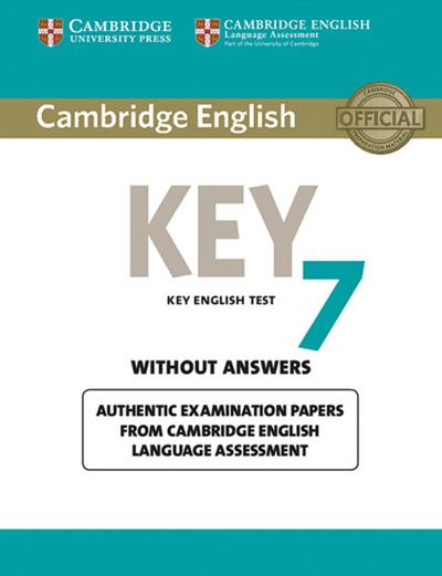 Cambridge English Key 7: Student's Book without answers