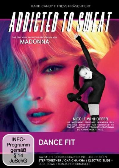 Addicted to Sweat - Dance Fit - WVG Medien Gmbh - DVD, Englisch| Deutsch, Madonna, ,
