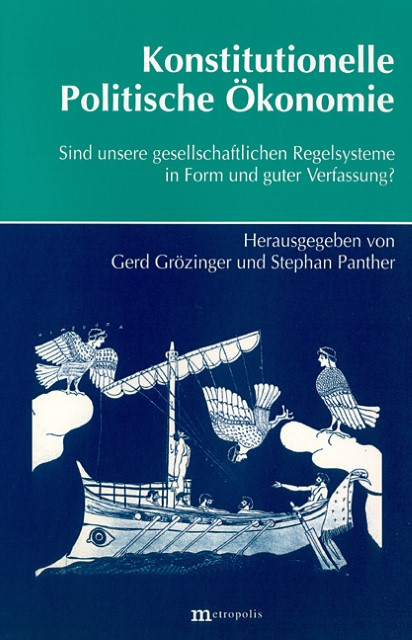 Konstitutionelle Politische Ökonomie Gerd Grözinger