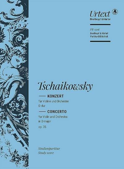 Konzert D-Dur,op. 35