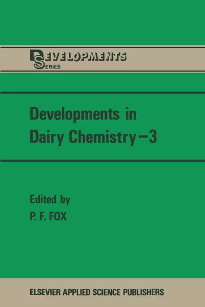 Developments in Dairy Chemistry-3