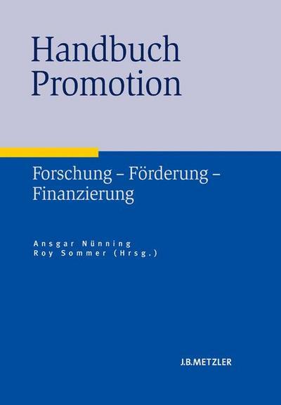 Handbuch Promotion