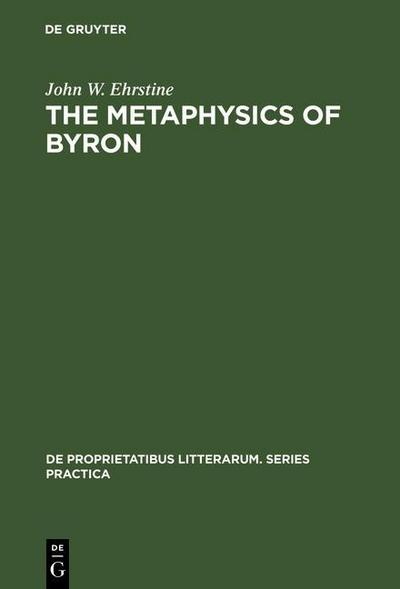 The Metaphysics of Byron