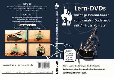 Dudelsack Lern DVDs - Wartung, Pflege und Einstellung des Dudelsacks