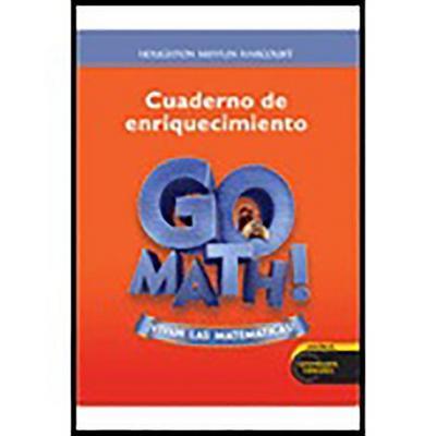 Go Math! Vivan Las Matemáticas: Student Enrich Workbook Grade 2