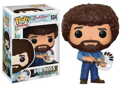 Pop Bob Ross the Joy of Painting Vinyl Figure