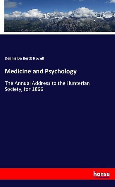 Medicine and Psychology