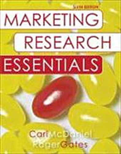 Marketing Research Essentials with SPSS, Carl McDaniel, Roger H. Gates