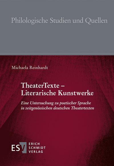 TheaterTexte - Literarische Kunstwerke