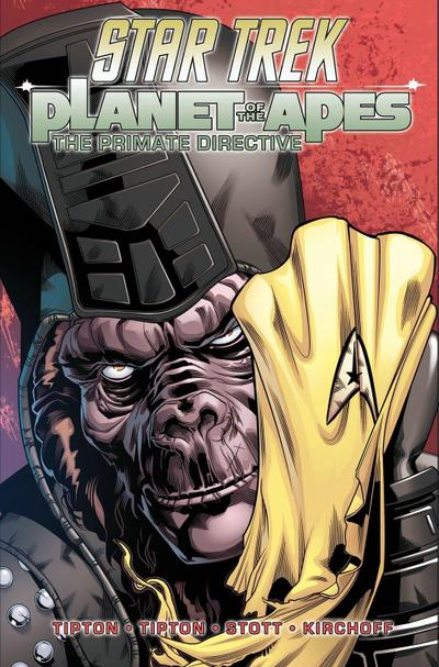 Star Trek/Planet Of The Apes The Primate Directive