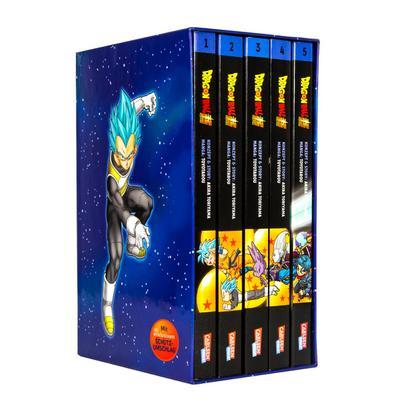 Dragon Ball Super Bände 1-5 im Sammelschuber mit Extra