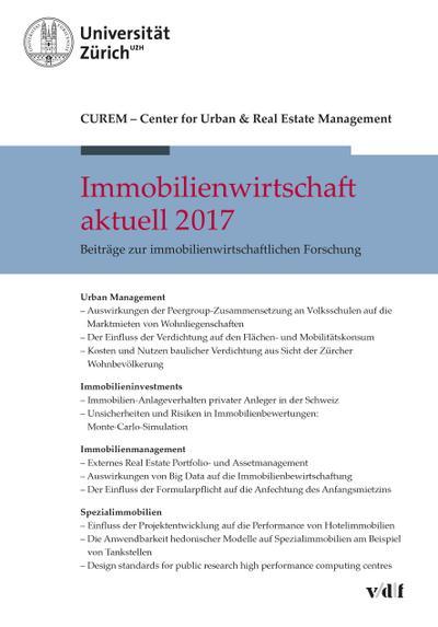 Immobilienwirtschaft aktuell 2017